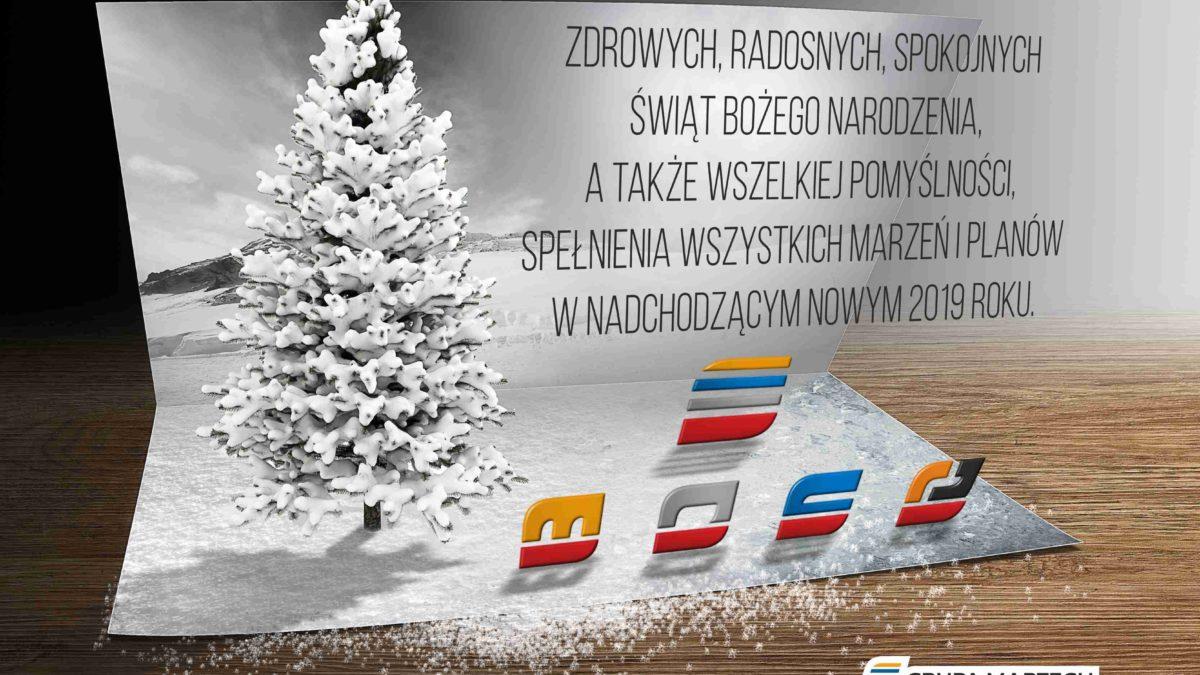 Wesołych świąt Bożego Narodzenia Oraz Szczęśliwego Nowego 2019 Roku